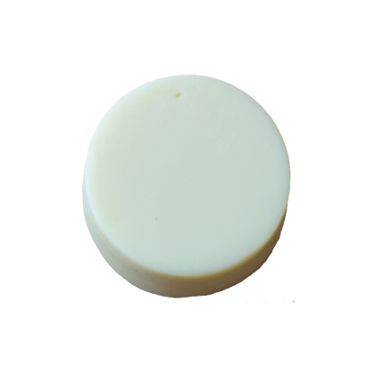 small circular solid conditioner bar palm oil free australian made hand made plastic free